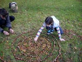 Mandala Making With Kids
