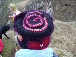 Upcycled felted hats2